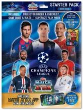 Fotbollskort Champions League 19-20 - Samlarhäfte med kort