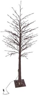 Lystræ på fod - Med 355 LED lys - 155 cm højt.