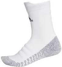 adidas Jalkapallosukat Alphaskin Lightweight Cushion Crew - Valkoinen/Musta
