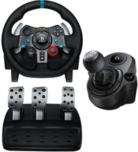 Logitech G29 Driving Force + Driving Force Shifter Musta