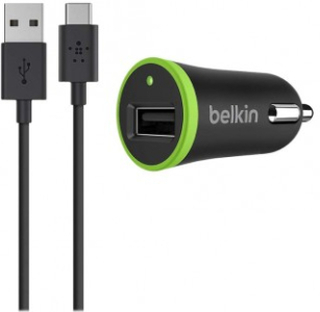 Belkin Car Charger 2.1A With USB-C To Usb-A Cable 1,8m - Belkin