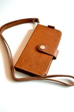 Mobilplånbok (iPhone 4) - Cognac