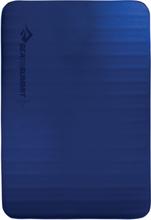 Sea to Summit Comfort Deluxe S.I. Mat Double blue 2020 Liggunderlag