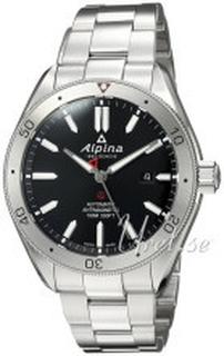 Alpina AL-525BS5AQ6B Alpiner Svart/Stål Ø44 mm