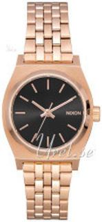 Nixon A3992598-00 The Time Teller Sort/Rose-gulltonet stål Ø26 mm