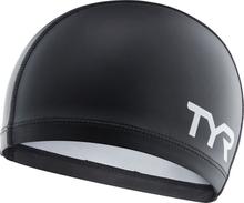 TYR Silicone Comfort Swimming Cap black 2020 Badehetter