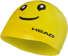Head Silicone Sketch Cap yellow face 2020 Badehetter