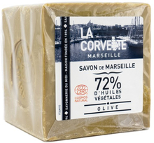 Naturlig Marseilletvål Kub, 500 g