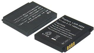 Ersättningsbatteri LGIP-580A