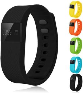 Smartklocka - aktivitetsarmband - svart