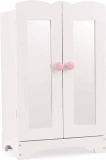 KidKraft Garderob Lil' Doll 29,6x22,2x48 cm vit 60132