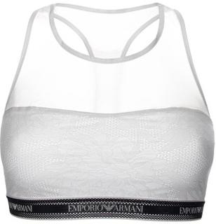 Emporio Armani Sporty Lace Visibility Bralette * Gratis Fragt * * Kampagne *