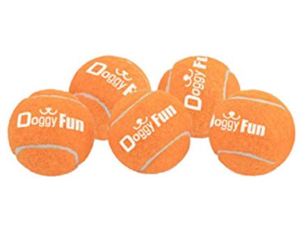 Doggy Fun Apportkanon 5 Paket bollar