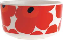 Unikko kulho 5 dl punainen-valkoinen