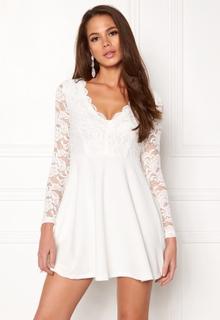 Make Way Shelby Dress White XL