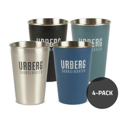 Urberg 4-pack Steel Tumbler G3 Serveringsutrustning