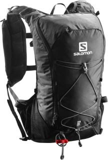 Salomon Agile 12 Set treningsryggsekker Sort OneSize