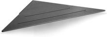Unidrain Reframe hörnhylla, svart