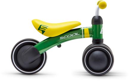 s'cool pedeX first Løbecykel Børn grøn 2019 Løbecykler