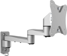 WH223 - Wall mount silver for audio/video WH223