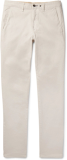 Fit 2 Slim-fit Garment-dyed Stretch-cotton Twill Chinos - Stone