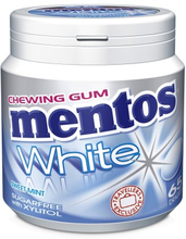 Mentos White Peppermint Gum 40 stk