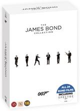 James Bond: Samleboks (24 disc)