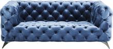 KARE DESIGN Sofa Look Royal Blå 180 cm