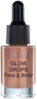 Isadora Glow Drops Face & Body Highlighter Bronze