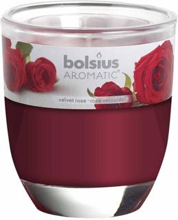 Bolsius 6 stk. duftlys fløjlsrose rød 103626150381