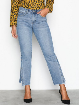 Vila Vimacon Rw 7/8 Jeans Blå