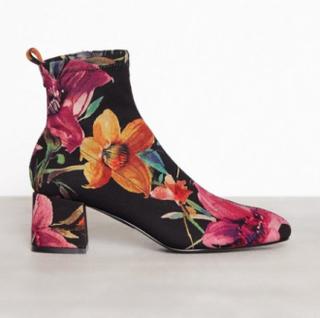Topshop Buttercup Sock Boots Low Heel Multi