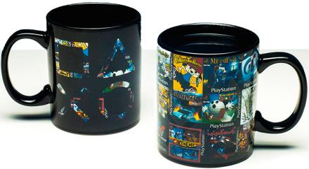 PlayStation Kopp Game Cover Skifter motiv med varm/kald drikke