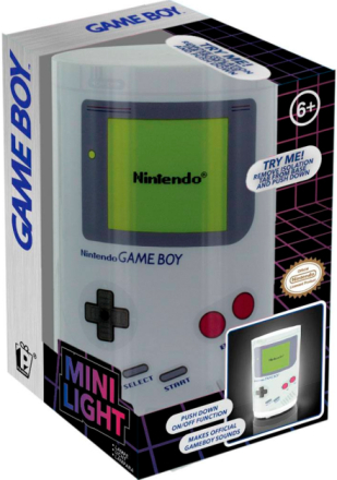 Game Boy Lampe med lyd 11cm