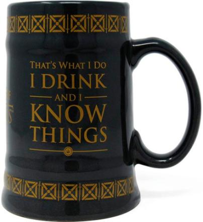 Game of Thrones Kopp Drink & Know Things