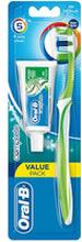 Complete 5 Way Clean Manuell Tandborste Medium