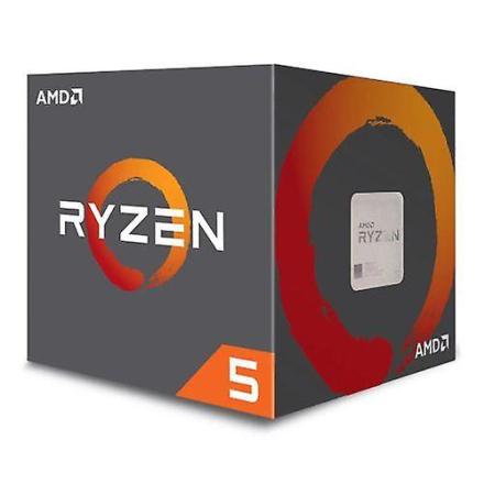 AMD Ryzen 5 1500 x Cpu med Wraith kjøligere, Am4, 3,6 ghz (3.7 Turb...