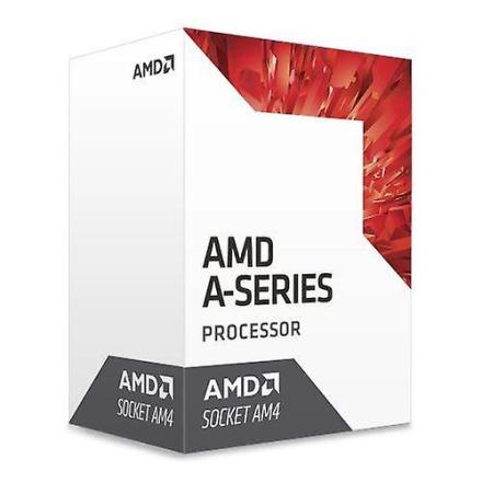 AMD A10 X 4 9700 Cpu, Am4, 3,5 ghz (3,8 Turbo), firekjerners, 65 w,...