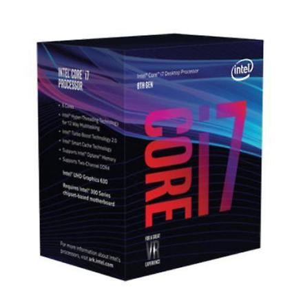 Intel Core I7 - 8700k Cpu, 1151, 3,7 Ghz (4,7 Turbo), 6-kjerne, 95-...