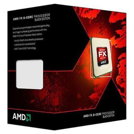 AMD Fx-8320 Cpu, Am3 +, 3,5 ghz, 8 kjerner, 125w, 16 mb Cache, 32nm...