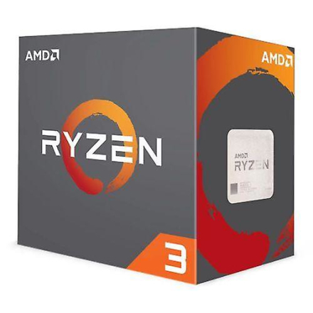AMD Ryzen 3 1200 Cpu med Wraith kjøligere, Am4, 3.1ghz (3,4 Turbo),...