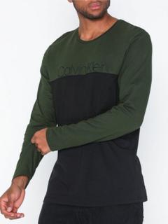 Calvin Klein Underwear L/S Crew Neck Nattøy Khaki