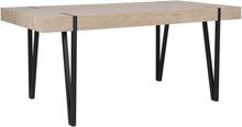 Ruokapöytä vaaleanruskea 150 x 90 cm ADENA