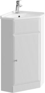 Tvättställsskåp Armando - hörn, vägghängt (55 (36)×80,5×37,5 cm)