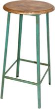 2 st Kramfors barstol - Mintgrön