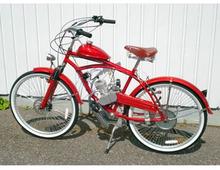 Cykel med påhängsmotor 49cc / Retro