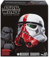 Star Wars The Black Series The Mandalorian Incinerator Stormtrooper Premium elektronischer Rollenspielhelm