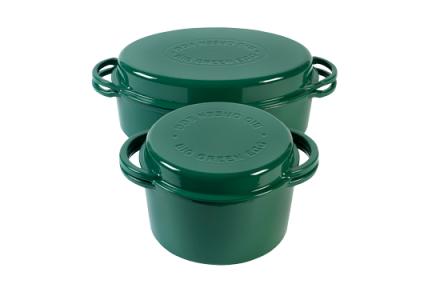 Big Green Egg Rund & Oval Gryte Grønn 4 + 5,2 liter