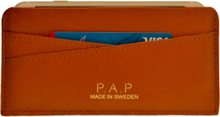 PAP RIKA iPhone læder cover Tan