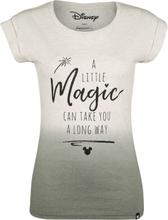 Mickey Mouse - Magic -T-skjorte - Melert kremfarget